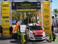 RallyRACC Catalunya 25,10.2015 with Hubert Ptaszek and Kamil Kozdroń